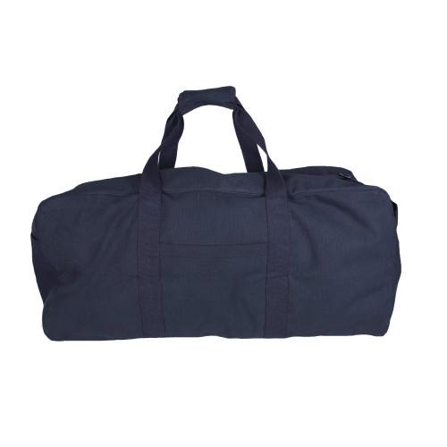 Jumbo Canvas Parachute Cargo Bag - Black