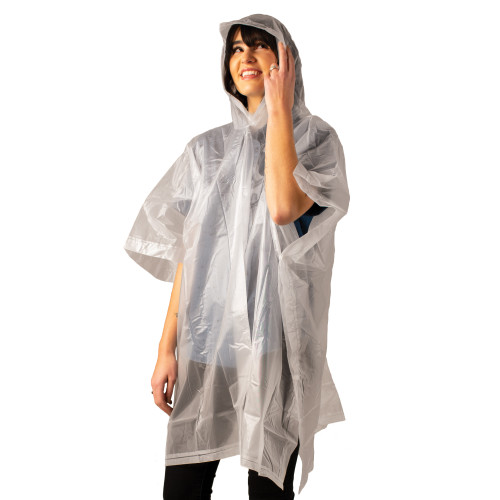 Hooded Peva Poncho