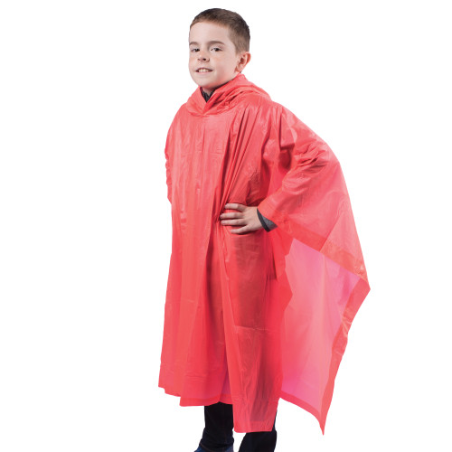 Youth Vinyl Poncho Assorted