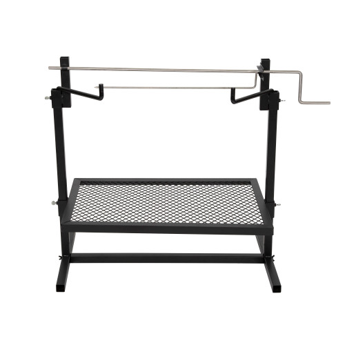 Heavy-Duty Rotisserie and Spit Camp Grill