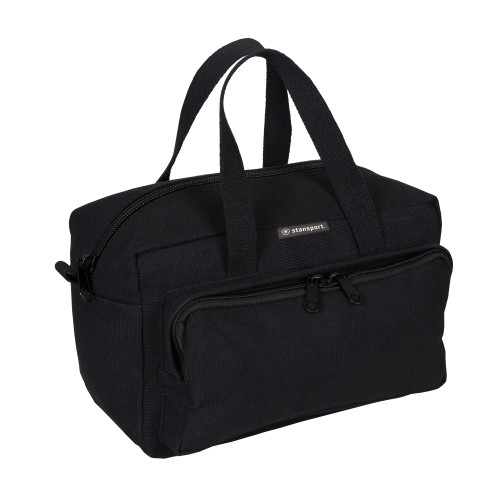 Cotton Canvas Tool Bag - Black