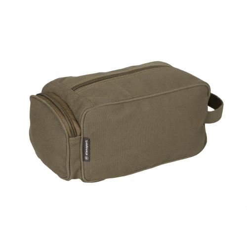 Cotton Canvas Travel Accessory Bag - O.D. Green