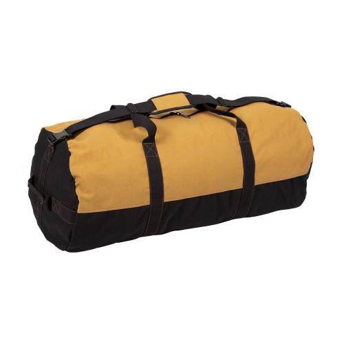 """2 Tone Zippered Duffel Bag 36"""" Length"""