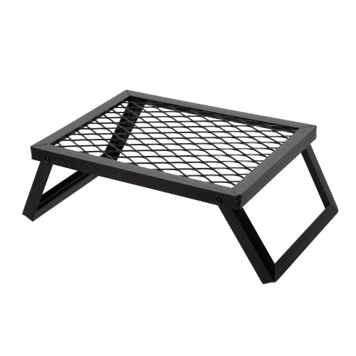Small outdoor grill, black