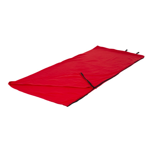 Fleece Sleeping Bag - Red