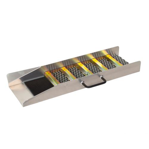 """Aluminum Sluice Boxes 24"""" Length"""