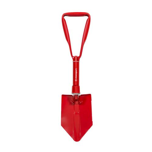 G.I. Style Double Folding Shovel - Red