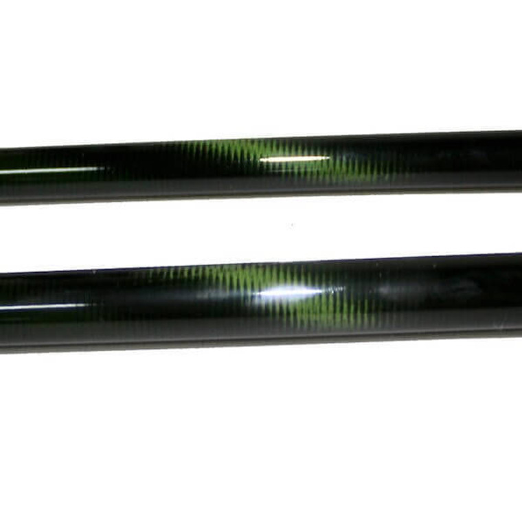 Glossy Green 10ft, 3wt, 4pc IM8 Graphite Fly Rod blank Medium Fast Action