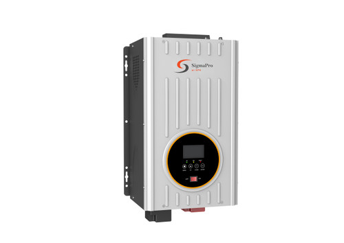 SPS SigmaPro-1524 1500W 120VAC 24VDC pure sine wave solar inverter charger with 80A MPPT controller