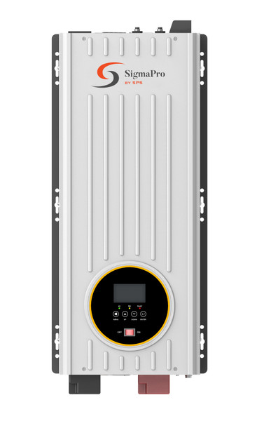 SPS SigmaPro-4048 4000W 120VAC 48VDC pure sine wave solar inverter charger with 80A MPPT controller