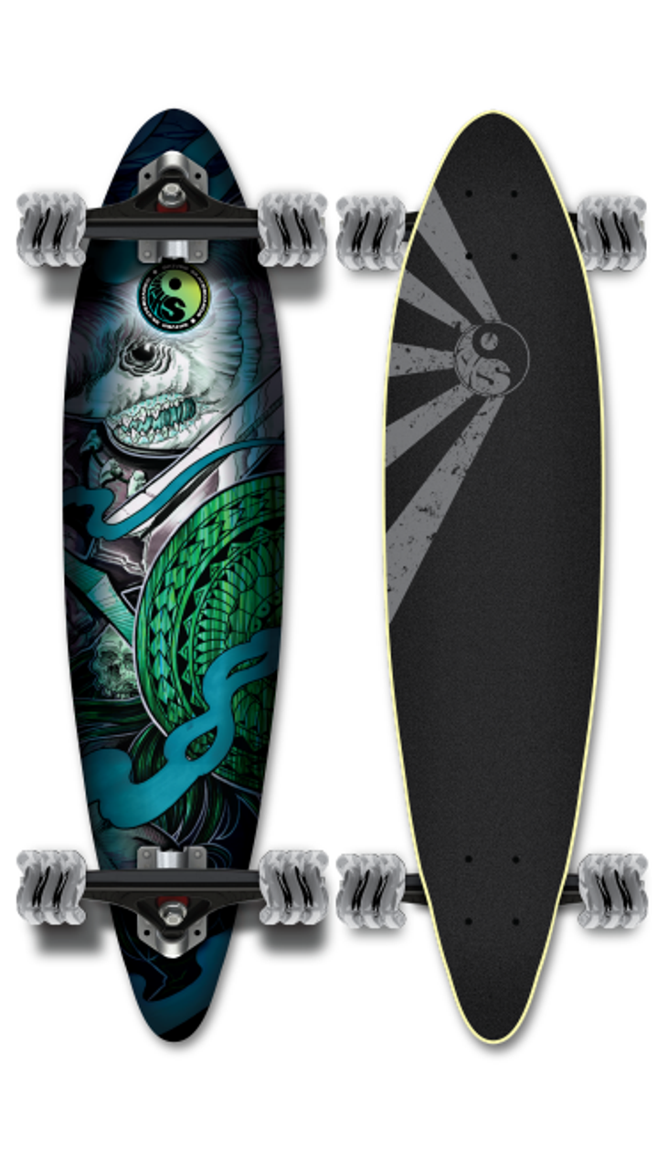 SHIVER DAKUWAQA MINI PINTAIL WITH 60MM SHARK WHEELS