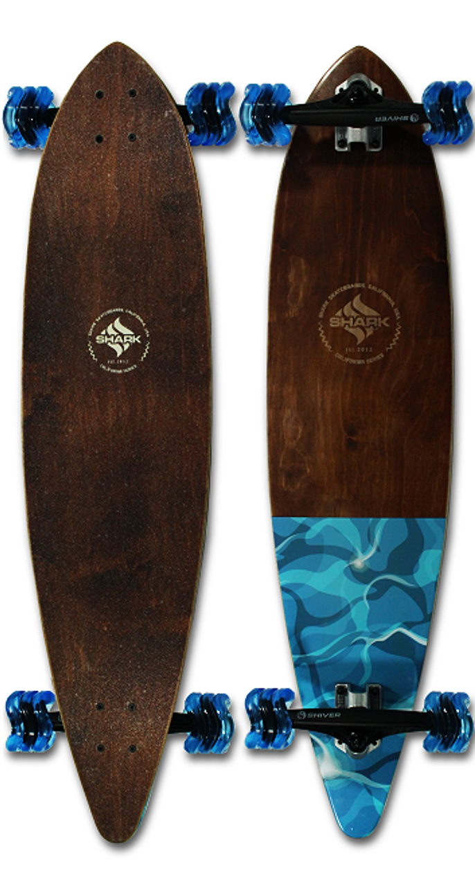 Water Flow Pintail Longboard