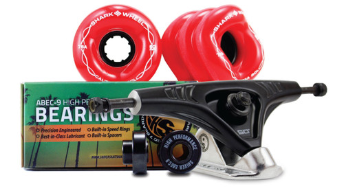 60MM Bundles. Pick Your Color. 60mm Wheels with Abec 9 Bearings & Pro Series Trucks