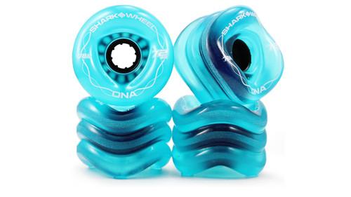 72MM, 78A Transparent Blue DNA