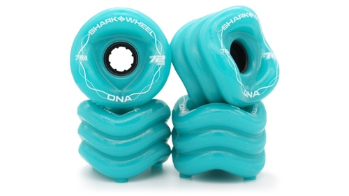 Shark Wheel 72MM, 78A DNA - Turquoise