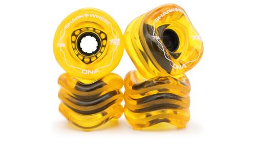 Shark Wheel 72MM, 78A DNA - Transparent Amber