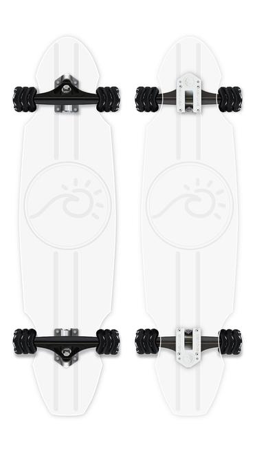 "Ghost Longboard - Surf and Sun (30"")"