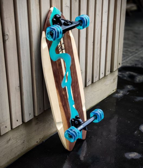 River Cruiser Skateboard (Custom Handmade Board)