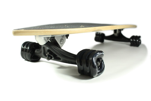 River Cruiser Skateboard (Custom Handmade Board) by Shark Wheel