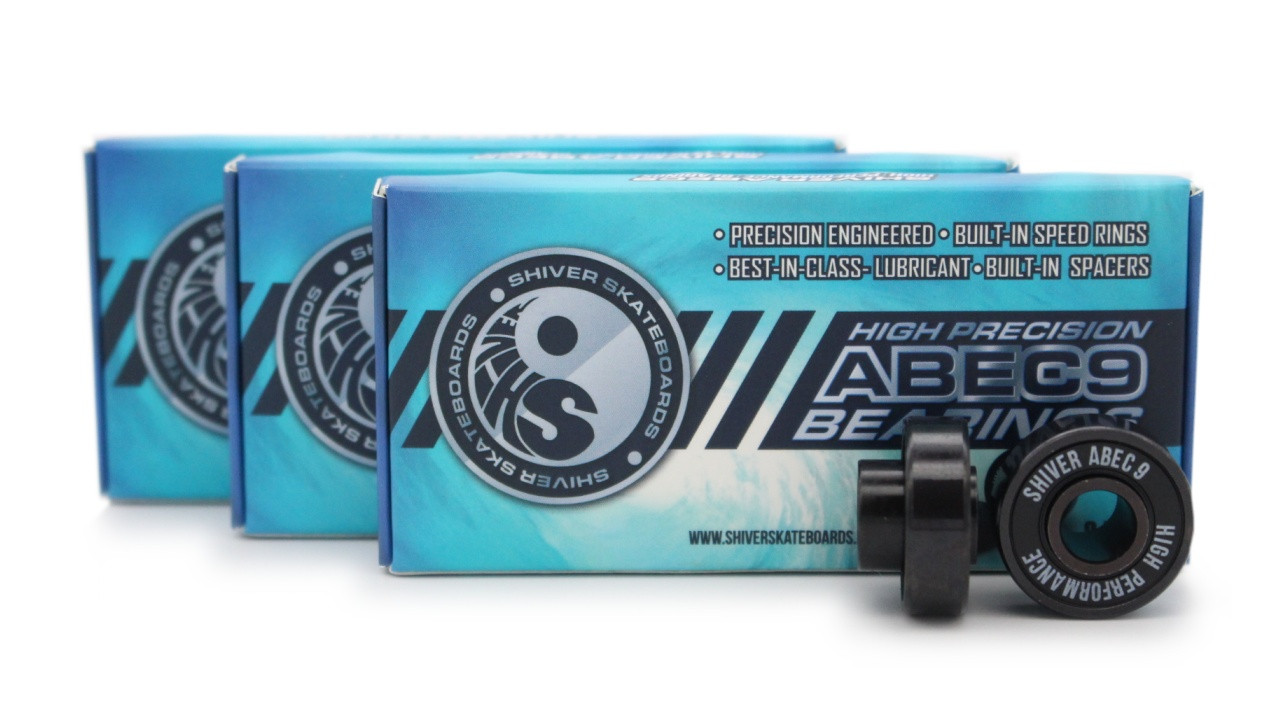 Shiver ABEC 9 Bearings by Shark Wheel