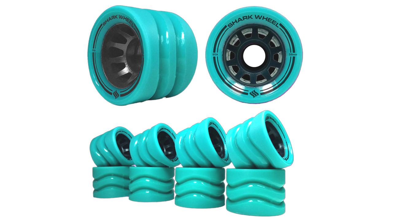 58MM, 86a Outdoor Quad Skate Derby Wheels