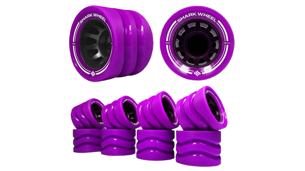 58MM, 86a Outdoor Quad Skate Derby Wheels