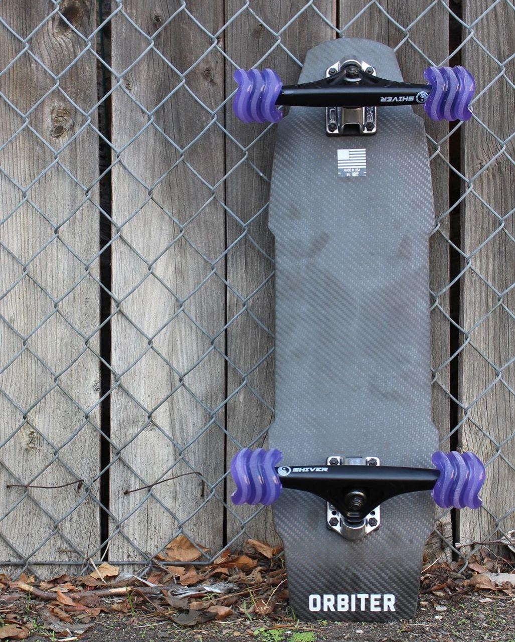 Shark Wheel 60MM, 78A Transparent Purple California Roll