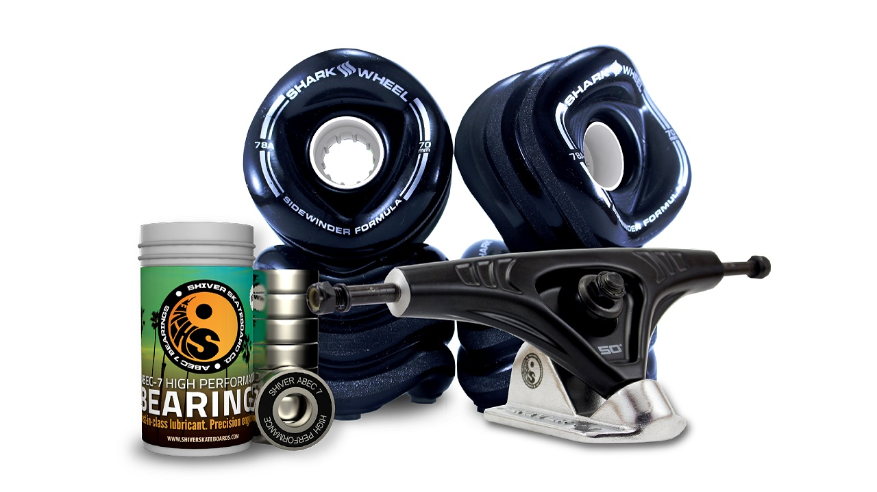 70MM Wheels with Abec 7 Bearings & Pro Series Trucks