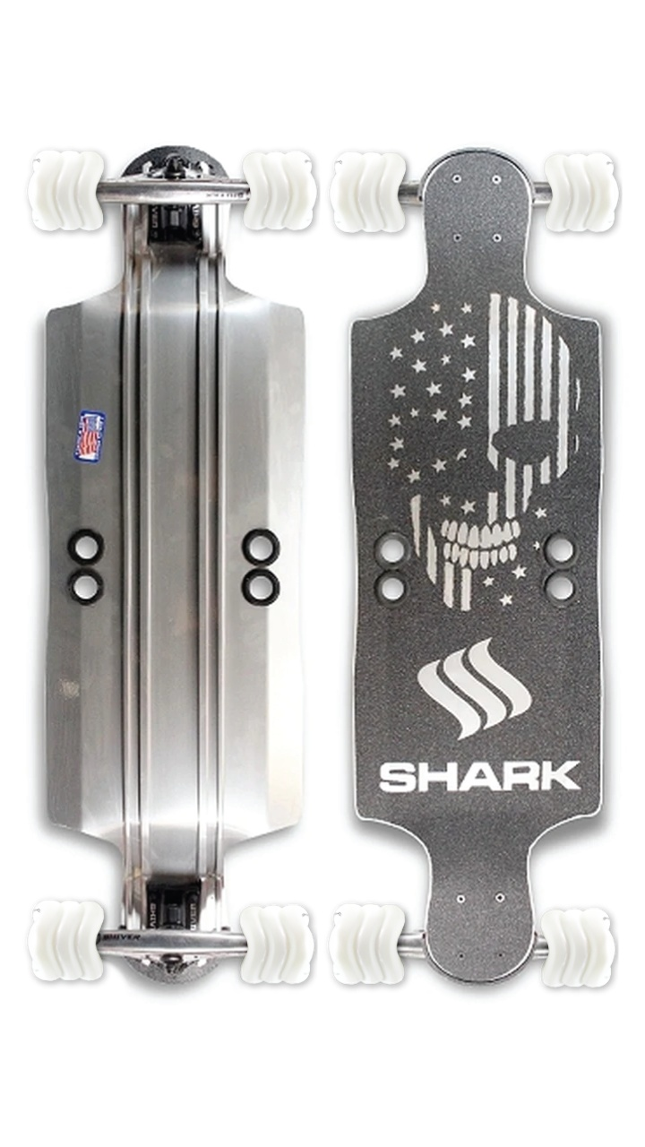 """""""Shark"""" Aluminum 35"""" Drop Down by Shark Wheel"""