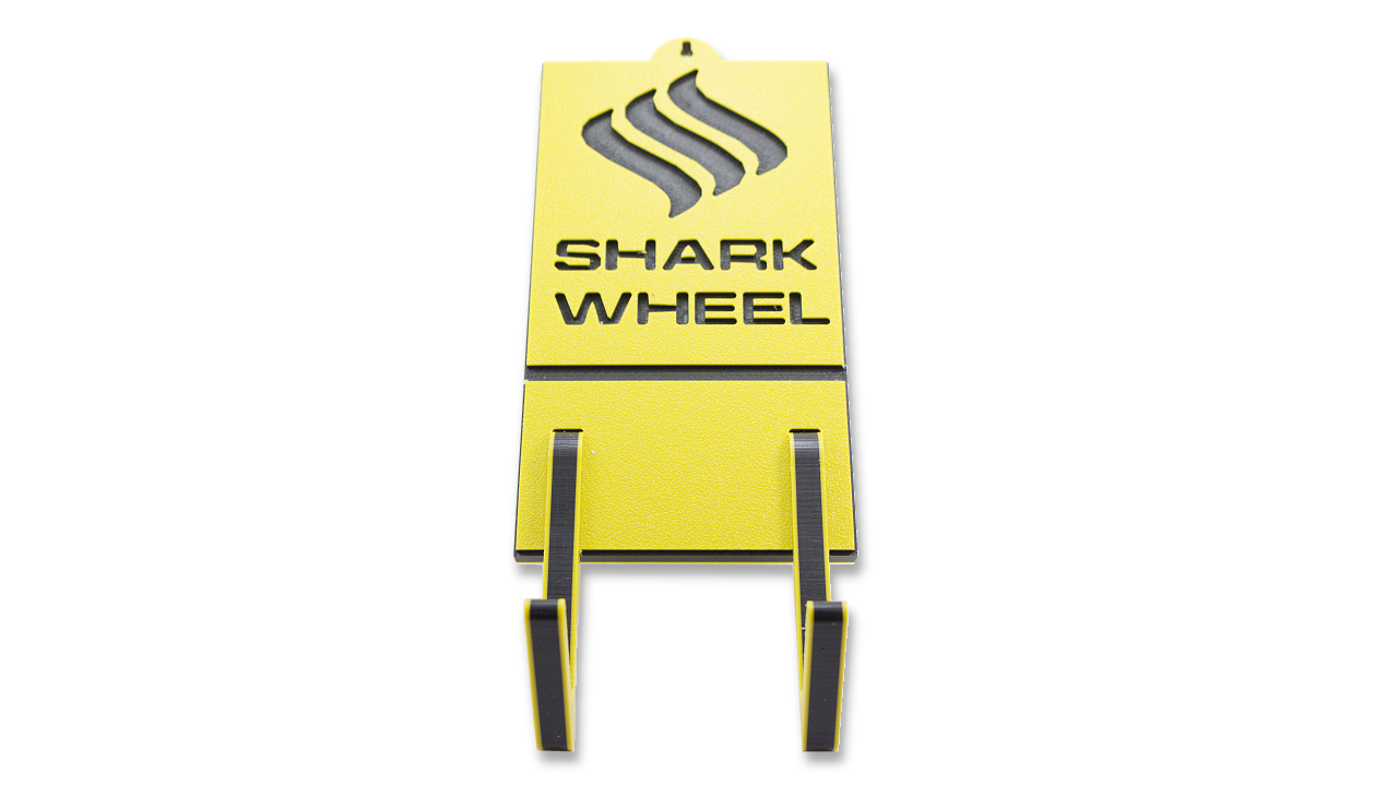 Board Rack - Yellow