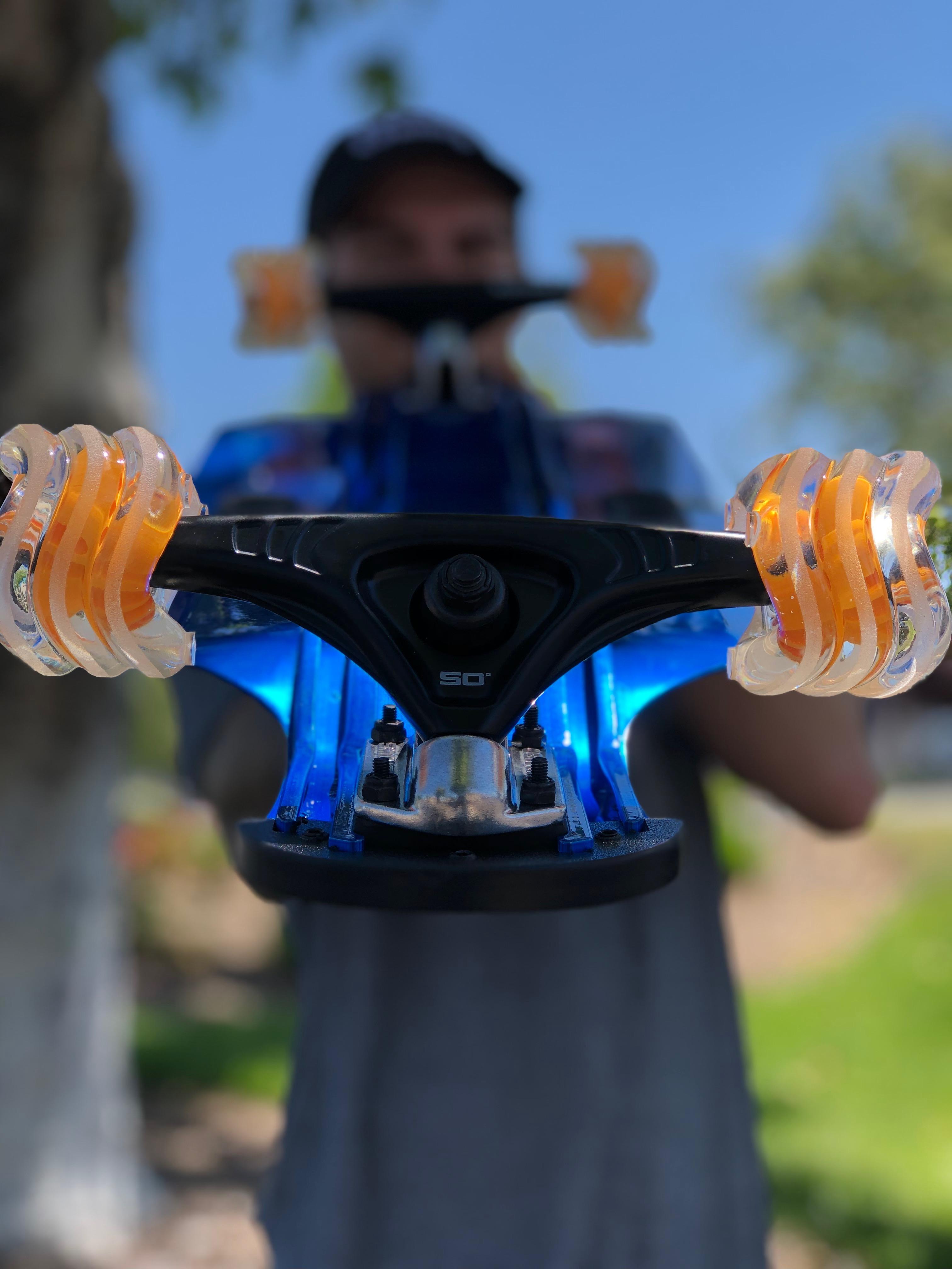 Shark Wheel - 72MM, 78A DNA - Clear/Orange