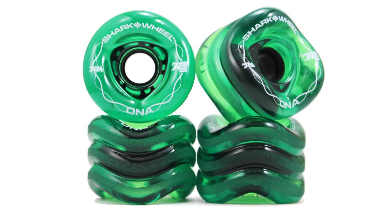 72MM, 78A Transparent Green DNA