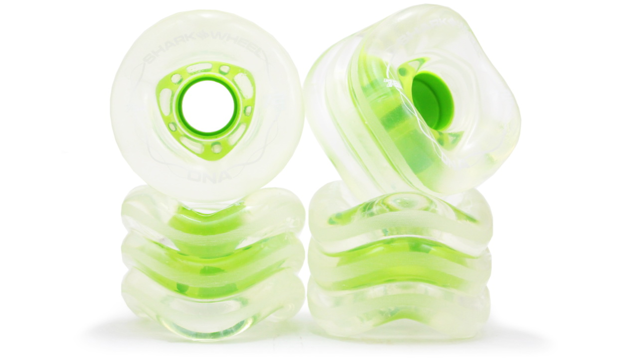 72MM, 78A Clear with Green Hub DNA