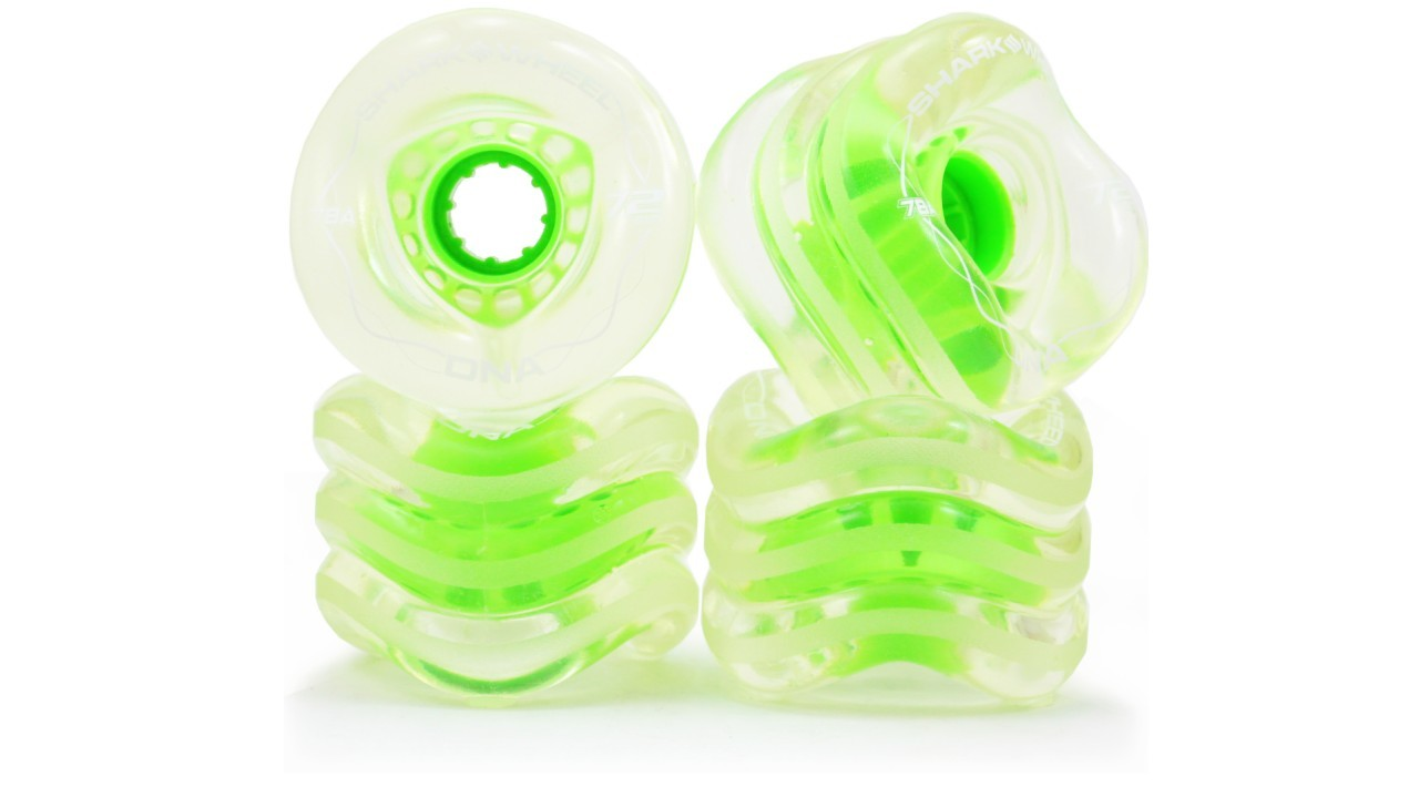 72mm, 78a Clear with Green Hub Blem