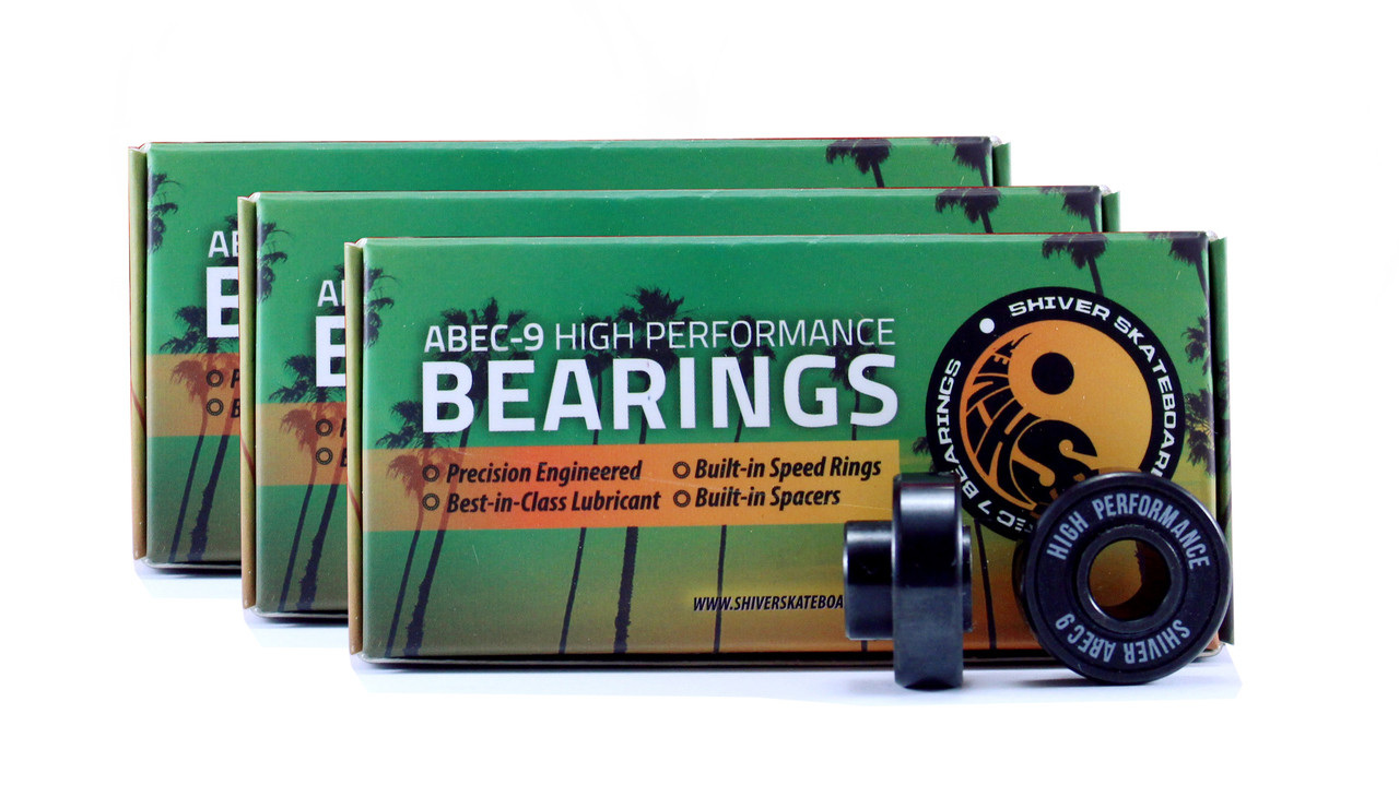 Bearings not included. Must upgrade order and add bearings.