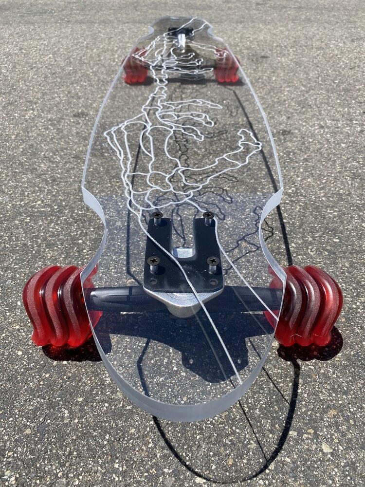 Ghost Longboard - Skeleton Hand (40'')