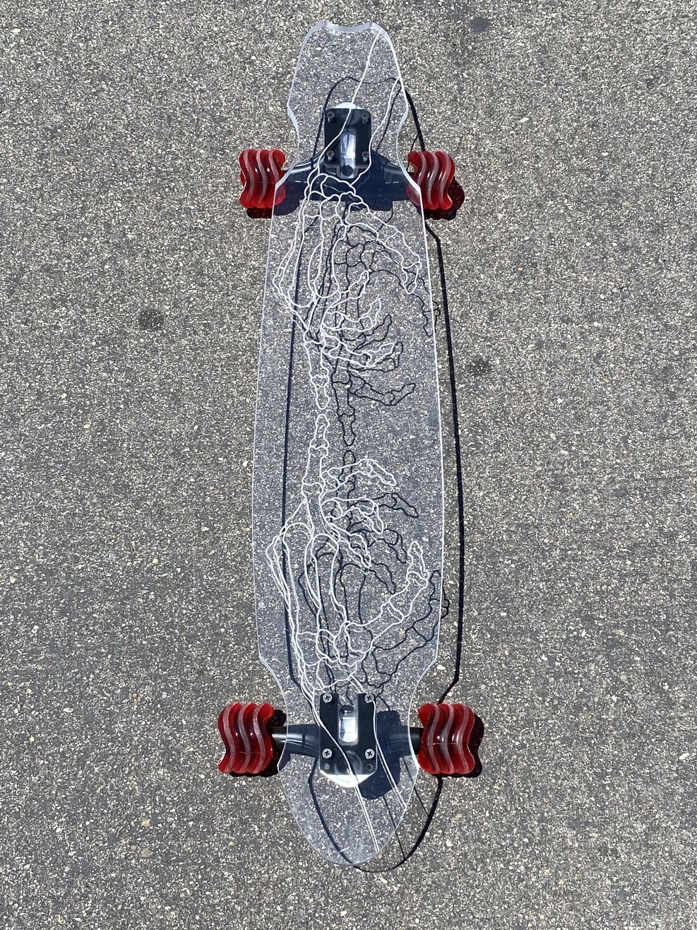 Ghost Longboard - Skeleton Hand (40'')