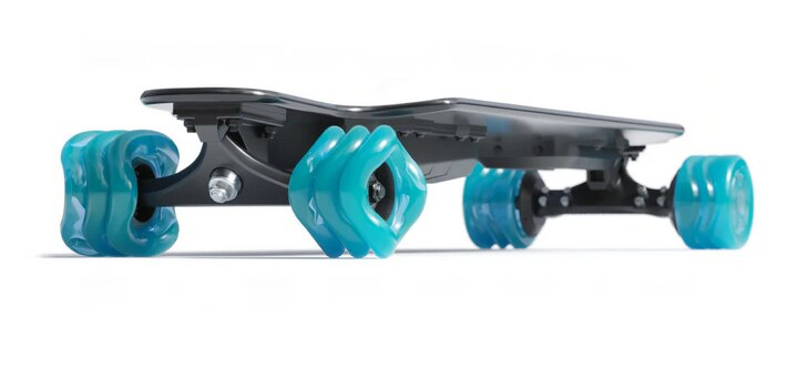 Shark Electric POWER - Blue Wheels