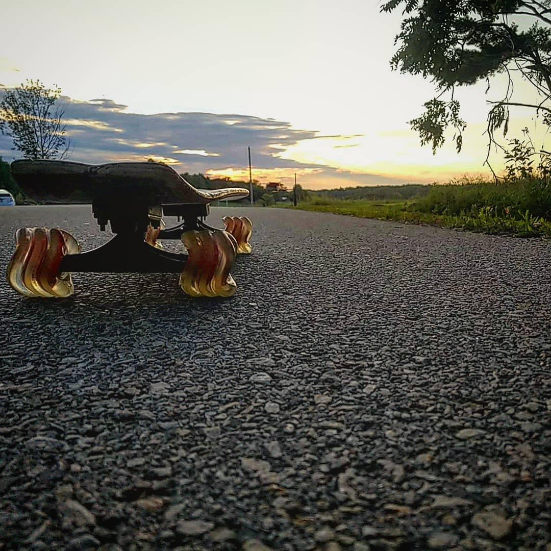 Bamboo Swirl Cruiser Skateboard