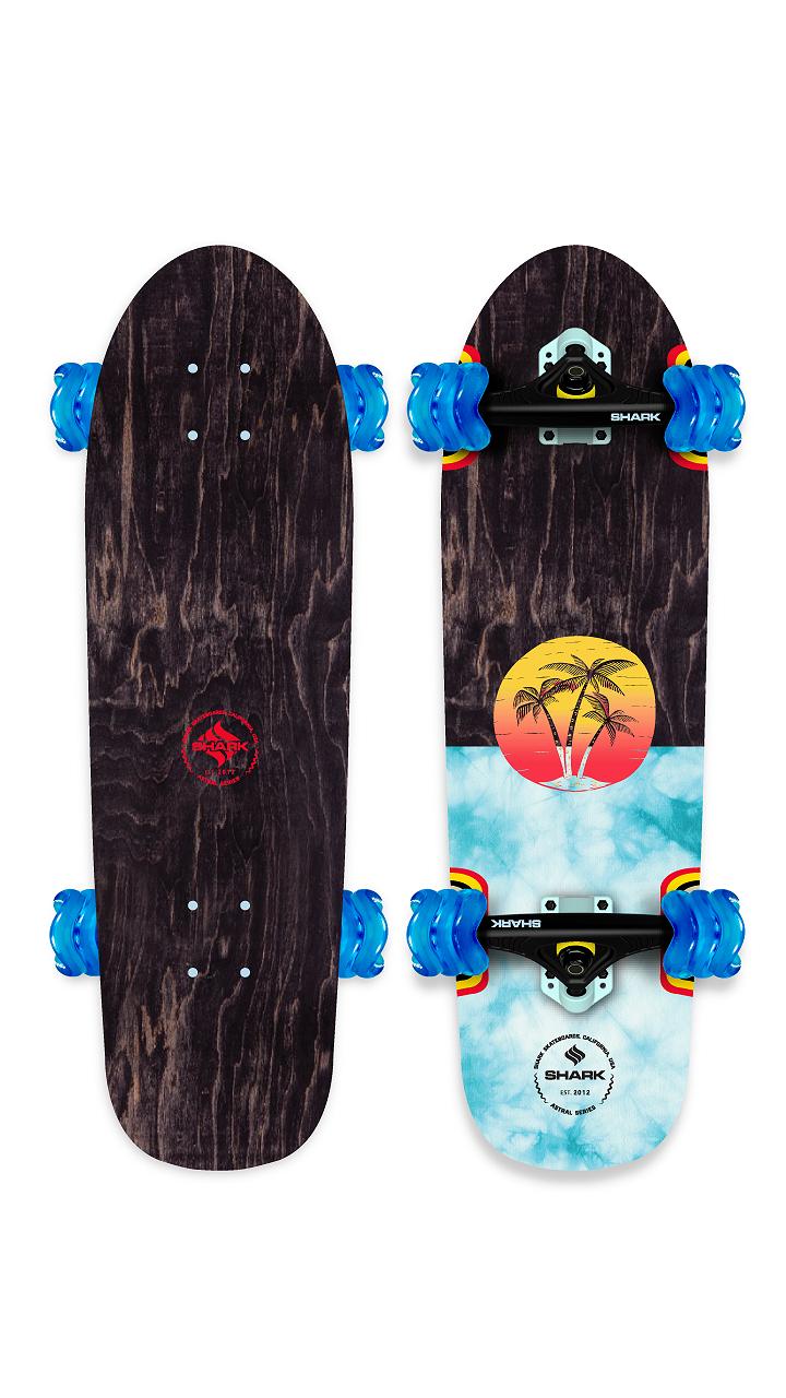 Sunset Cruiser Skateboard by Shark Wheel