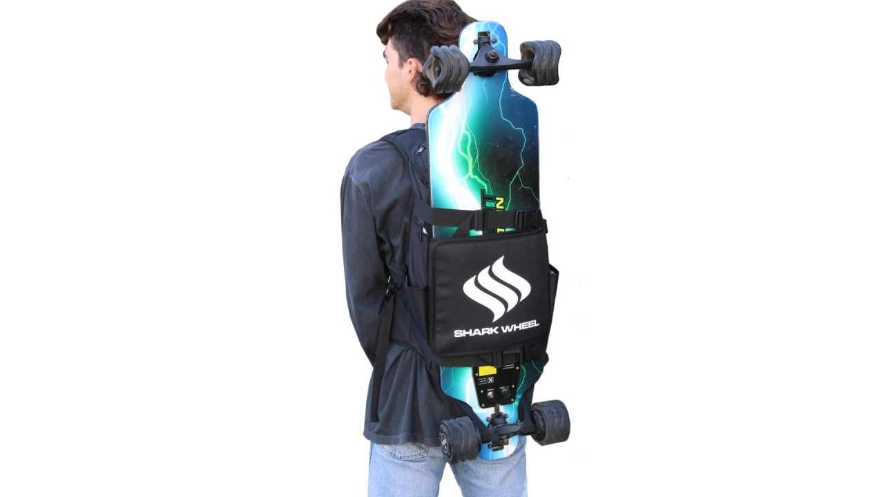 Skateboard Backpack by Shark Wheel