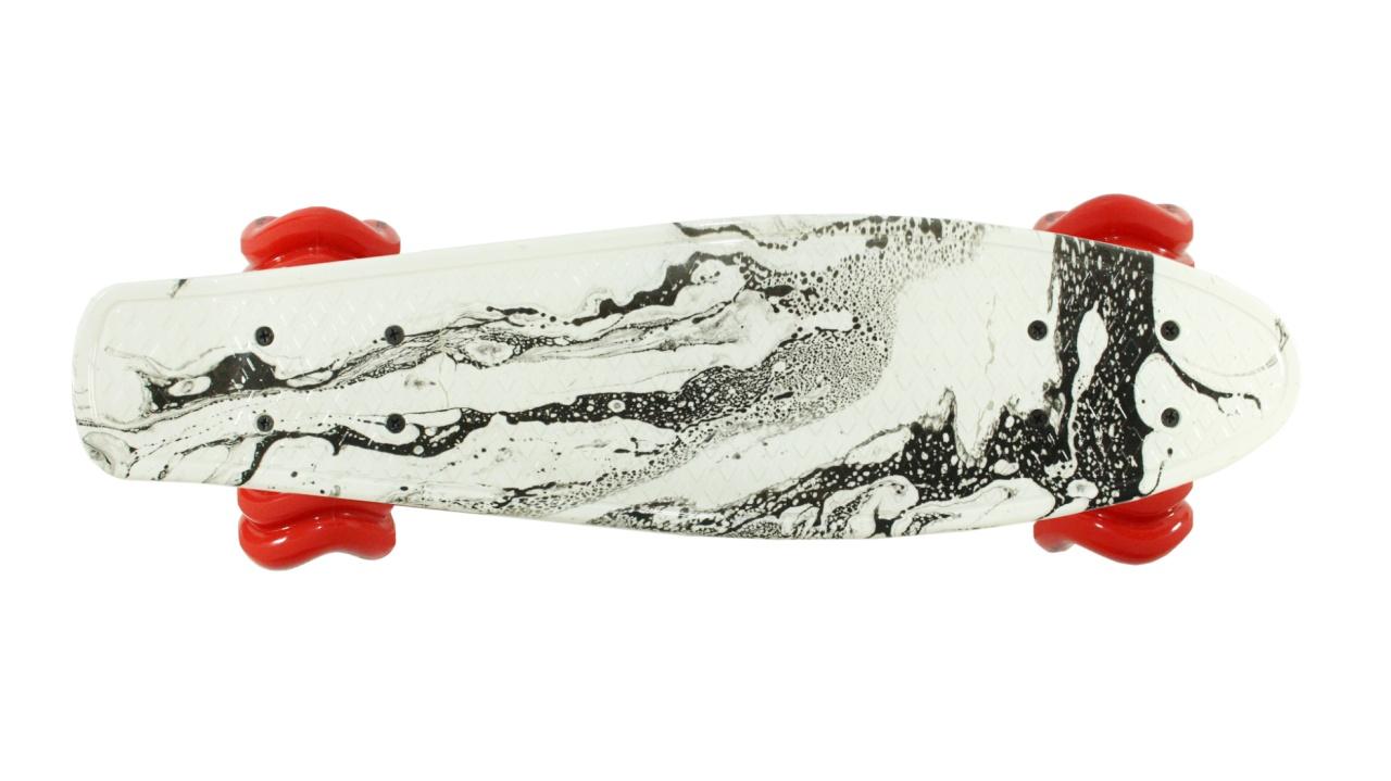 Black Tide 22'' Skateboard by Shark Wheel