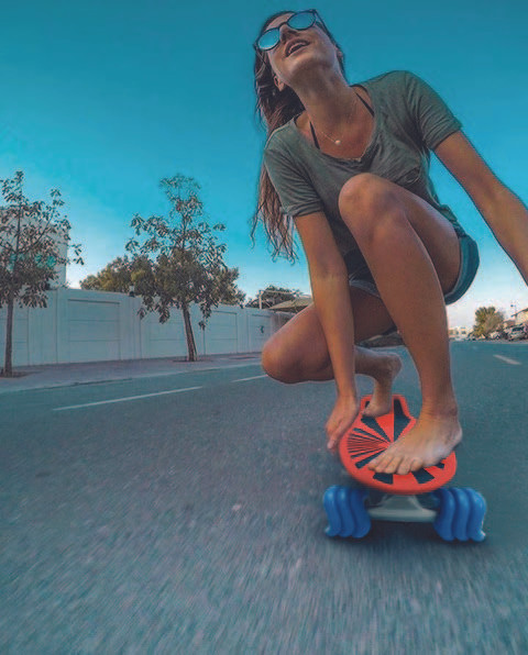 Black Tide 22'' Skateboard by Shark Wheel (50% Off - Click the Listing)