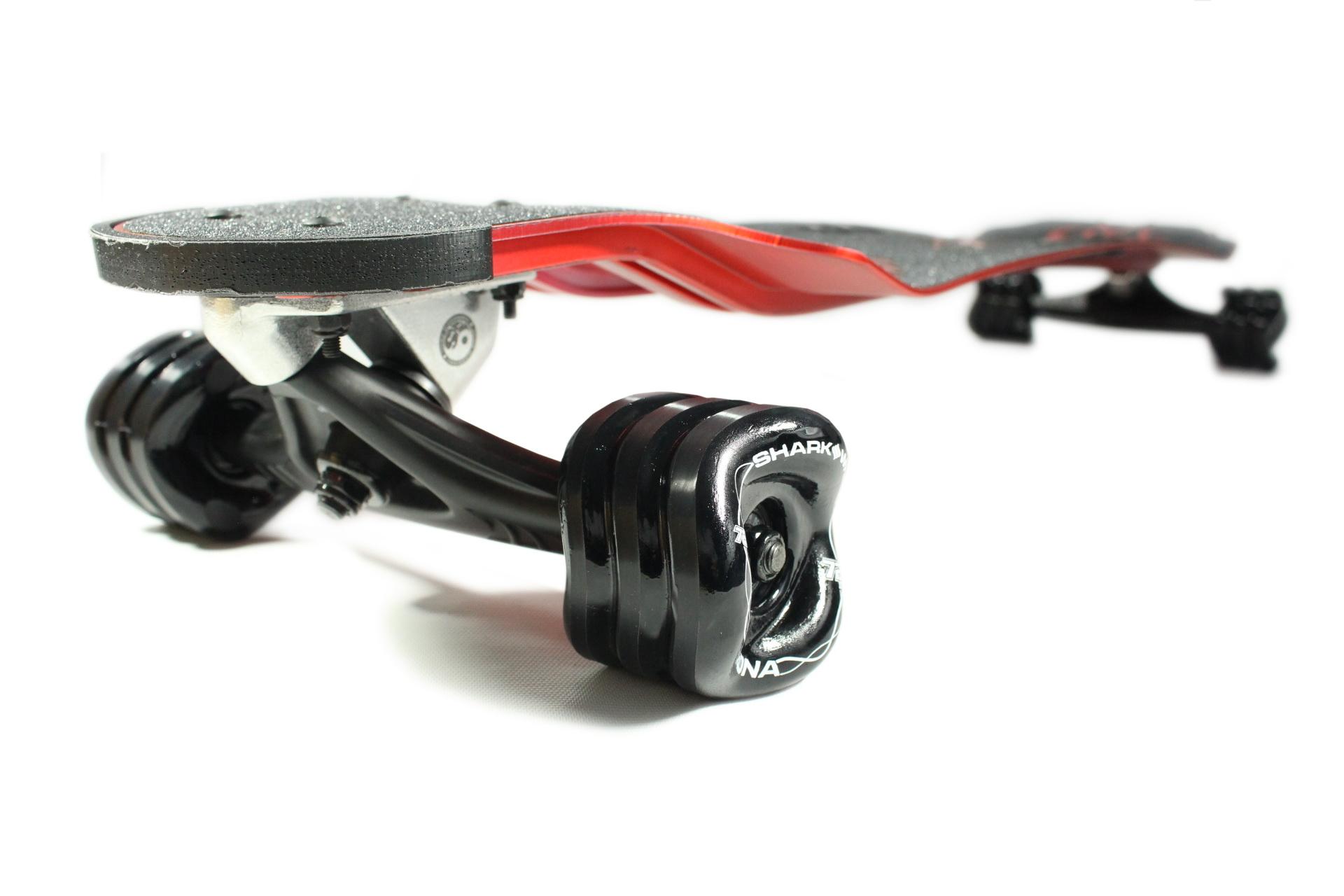 "Aluminum 38"" Drop Down Red by Shark Wheel."