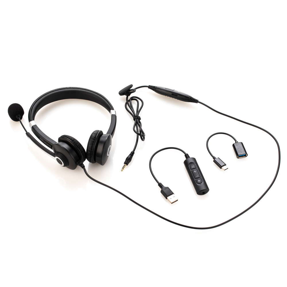 MeVIDEO Wired Stereo Headset