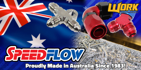 WORK Turbochargers is proud to now offer SpeedFlow Hoses and Fittings!