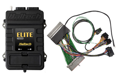 Elite 2000 + Ford Mustang GT & Cobra (1999-2004) Plug 'n' Play Adaptor Harness Kit - Haltech HT-151290