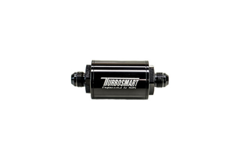 TurboSmart Billet Inline Fuel Filter (10um) (-6AN to -10AN) TS-0402-1130