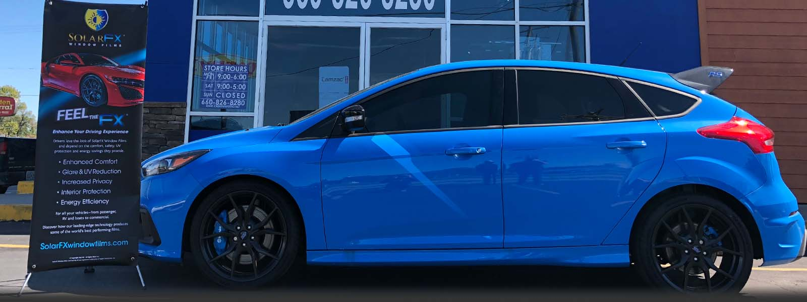 Tinted Focus RS
