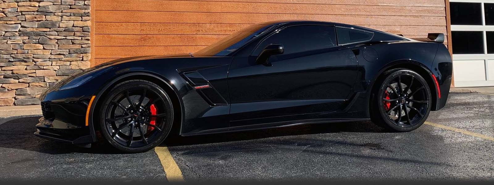 Tinted C7 Corvette